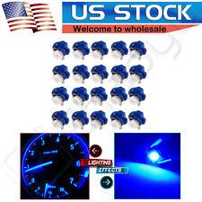 20Pcs B8.4D Blue LED Instrument Cluster Dash Gauge Light Bulb For Saturn/Ford