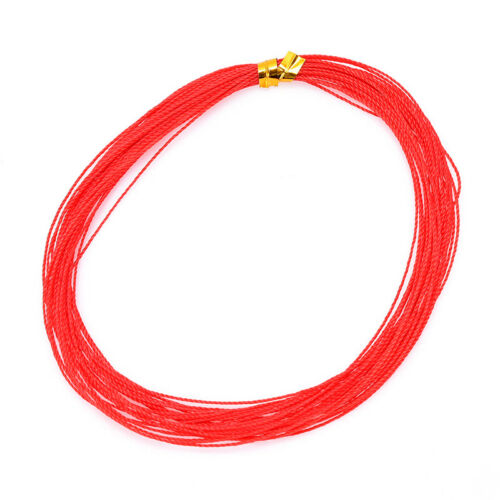 7M red fishing line for explosion hook tied braided fishing line anti winding UK