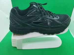 Brooks-Adrenaline-GTS-15-Men-039-s-Black-Walking-Running-Shoes-Size-6M
