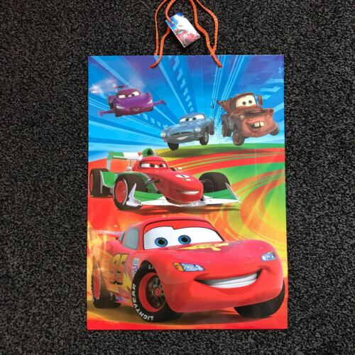 Birthday//Celebration//Party//Bags Disney Gift Bag Cars Large Size