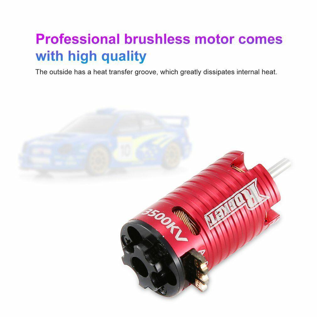 Rocket 2500KV 1.5mm 1-2S Sensorless Brushless Motor for MINI-Z Mini RC Car ND