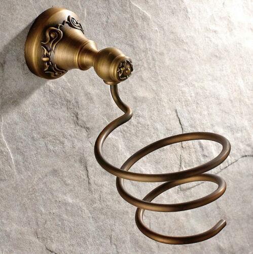 Antique Brass Bathroom Hardware Set Bath Room Accessories Towel Rack lba002