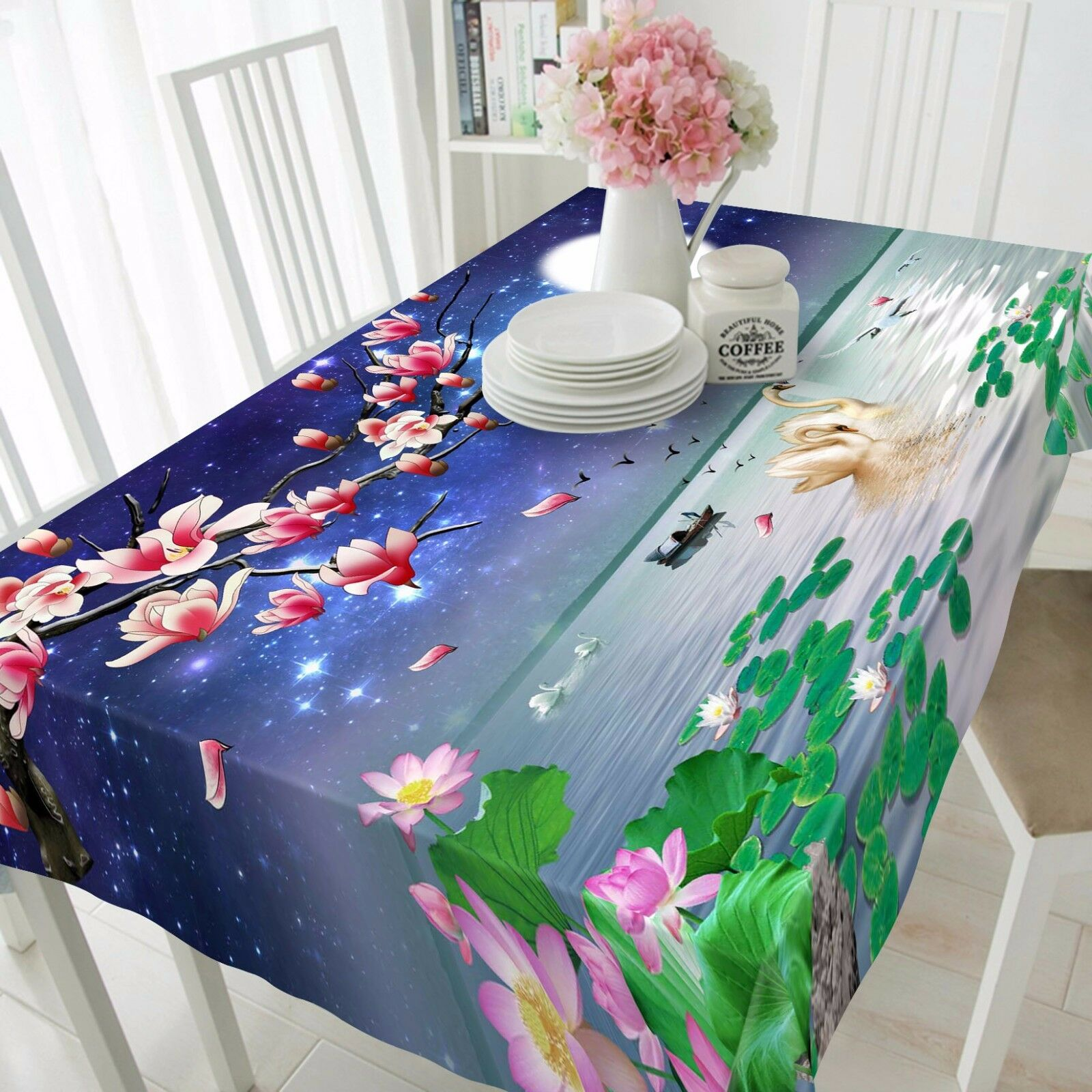 3D  Pond 474 Tablecloth Table Cover Cloth Birthday Party Event AJ WALLPAPER AU
