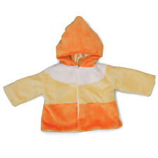 NWT Gund Baby Spooky Boo-Tique Candy Corn Baby Coat One Size 6-12 Months