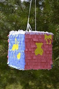 Image Is Loading Baby Shower Pinata Boy Girl Gender Party Pregnant