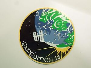 NASA Expedition 16 to ISS International Space Station Sticker Decal