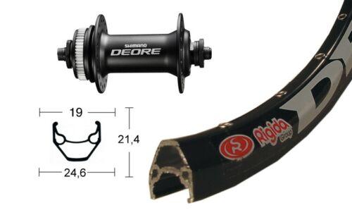 Deore M6000 CenterLock Shim Bike-Parts 28″ Vorderrad Ryde Zac 2000 Disc QR