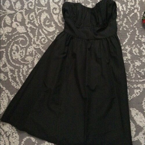 Delia's Strapless Little Black Dress