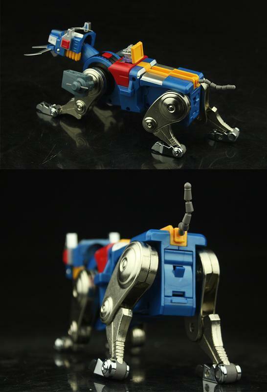 (In-Hand) Fantasy Jewel FJ-BSW03 Voltron Lionbot Die-Cast Blau Lion Figure NEW