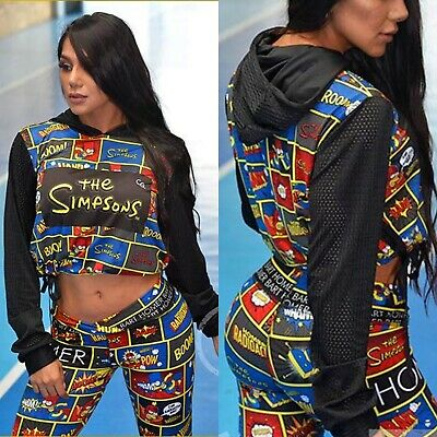 Colombian Brésilien Femme Ensemble Tenue Collant Haut & Veste S M Gym de Sport | eBay