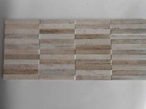 Mosaico,rivestimento cucina,bagno cm.26x60,5 Fiber Raphia Mosaico 3D ...