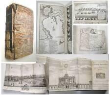 1748 THE LONDON MAGAZINE Fine FOLDING MAPS & ENGRAVINGS Battles Cuba Caribbean