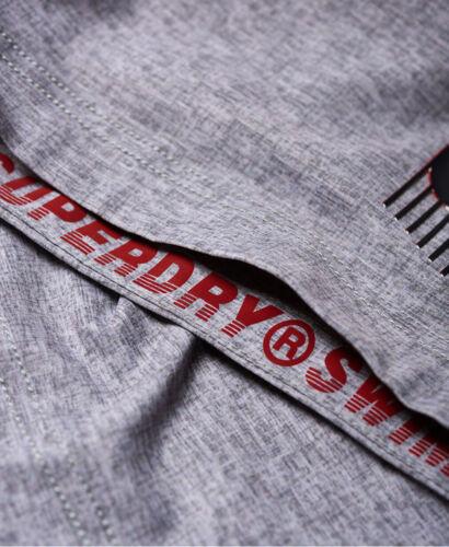Superdry Herren Classic Boardshort Schwimmhose M3000001A Grau