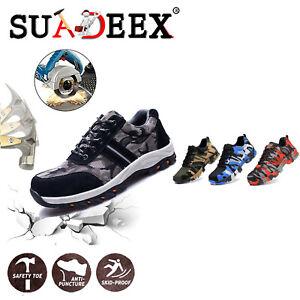 Scarpe-da-lavoro-antinfortunistica-donna-Sneakers-tappo-in-acciaio-impermeabili
