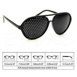 758f11793dc Pinhole Glasses Hole EYE Glasses Anti-Fatigue Vision Care Eyesight ...