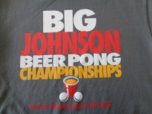 BIG JOHNSON Beer Pong Champion Hilarious Big Johnson/'s