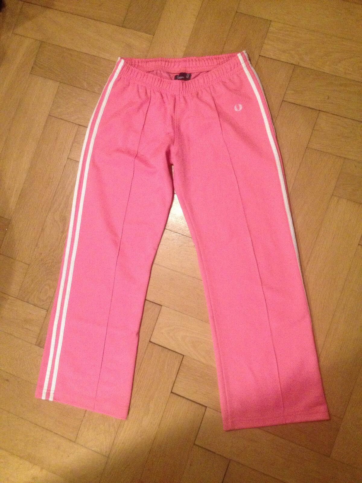 FRED PERRY Jogginghose M swearpants PINK pink Vintage Hipster 38