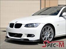 HM Style Carbon Fiber Front Bumper Lip Fits BMW E92 328i 335i Coupe w/ M sport