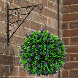 Haengend-Topiary-Ball-Kuenstlich-Garten-Blume-Pflanze-Dekoration-Korb-Hanging-Ball