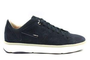 Dettagli su Geox NEBULA U948FA 000KZ Blu Sneakers Scarpe Uomo Calzature Casual