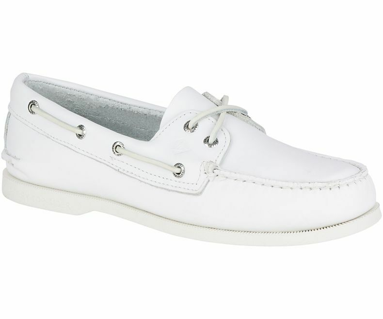 SPERRY A O 2-EYE BOAT sautope - bianca
