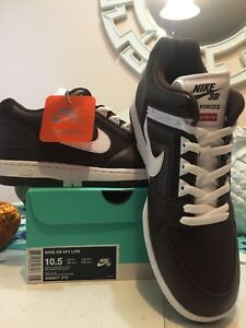 Details about Supreme SB Air Force 2 Brown White Sz 10.5 Deadstock New York