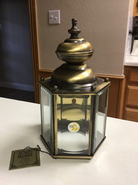 Catalina Solid Br Lantern Outdoor