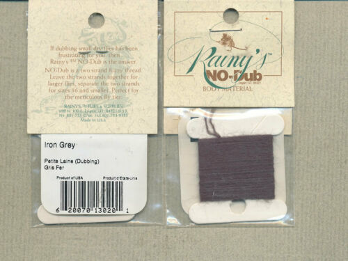 iron grey     NDB-20 No-Dub