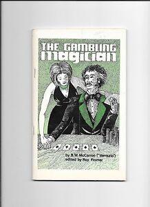 THE-GAMBLING-MAGICIAN-BY-B-W-McCARRON-MERCURIO-BOOKLET