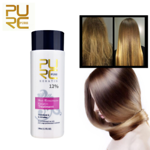 Pure Brazilian Keratin Hair Straightening Treatment 100 Ml Blow Dry Shampoo Kit 827159056999 Ebay