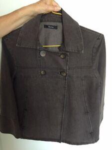 Veste marron foncée fermeture à boutons marque Burton taille 40 neuve valeur 60€