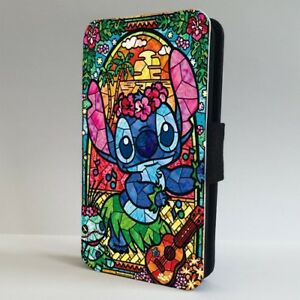 hot sale online 2acee 36b96 Details about Lilo and Stitch Stained Glass Disney FLIP PHONE CASE COVER  for IPHONE SAMSUNG