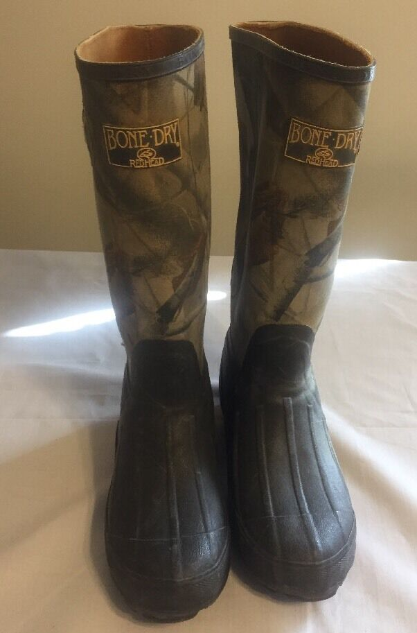 RedHead Bone Dry Real Tree Hunting  Boots Boys 3 Women 5  healthy