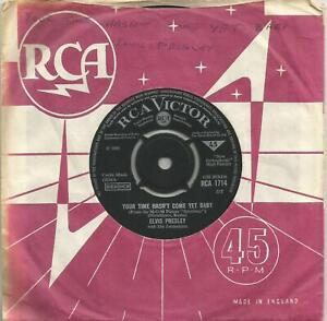 Elvis Presley - Your Time Hasn't Come Yet Baby 1968 7 inch vinyl single