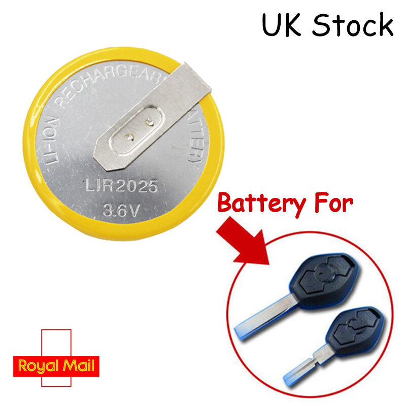 Bmw Key Fob Battery >> Details About Remote Key Fob Battery For Bmw Lir2025 3 5 7 X3 X5 E46 E38 E39 E53 E60 E61 E83