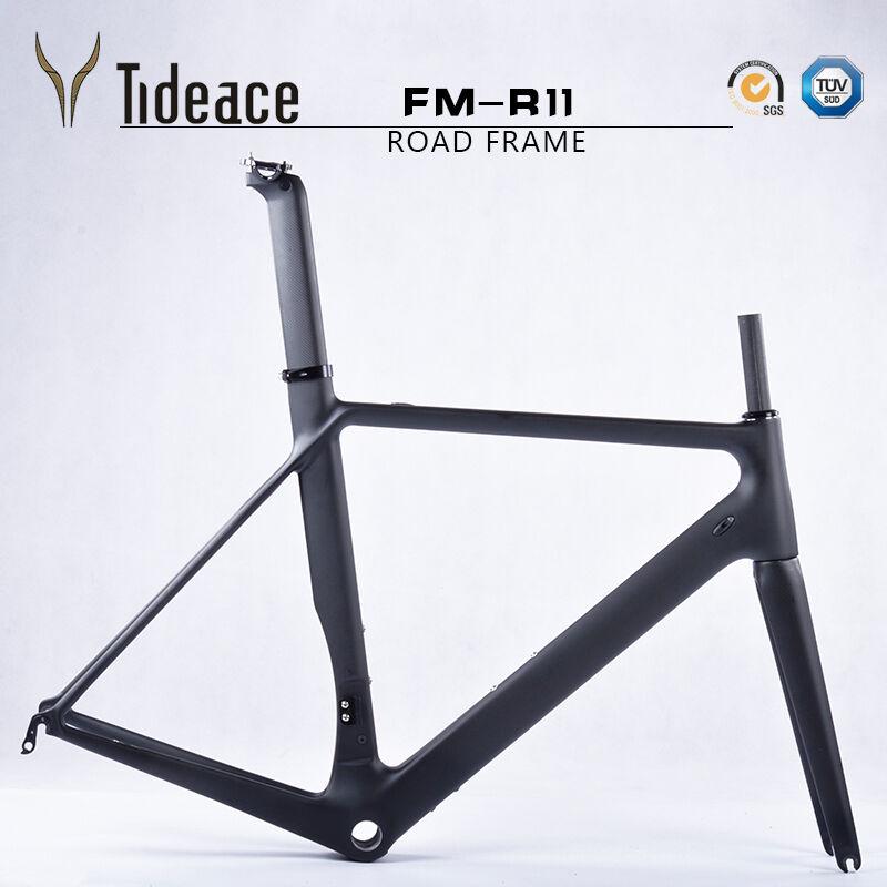 Road Racing Carbon Fiber 700C Bicycle Frames BSA 4951545658cm Bike Frameset