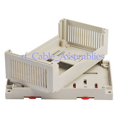 PLC industrial control box plastic shell fixture Electronics Project DIY case