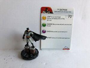 The-Batman-031-Batman-Alpha-Heroclix-DC-Single-w-Card