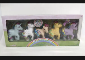 New My Little Pony 35th anniversary CLASSIC Set Of 5 Collectors Edition Box Set