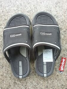 Free Post Men's Shoes Sandals Globe Grappler Slides Sizes 6 Bnwt!