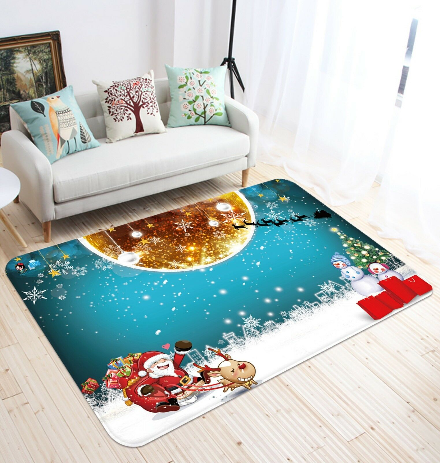 3D Christmas Christmas Christmas Xmas 293  Non Slip Rug Mat Room Mat Quality Elegant Photo Carpet UK 19bd39