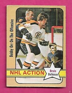 1972-73-OPC-58-BRUINS-BOBBY-ORR-ACTION-EX-CARD-INV-C2211