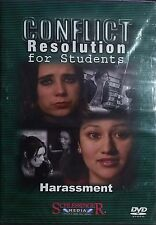 Conflict/Harassment Resolution For Students DVD Grade 5-12 With Teacher Guides