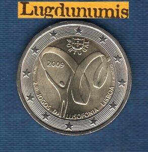 2 euro Commémo Portugal 2009 Jeux de la Lusophonie - Portugal