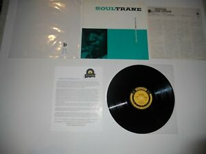 John-Coltrane-Soul-Trane-Audiophile-QUIEX-Japan-039-84-VG-ULTRASONIC-Clean