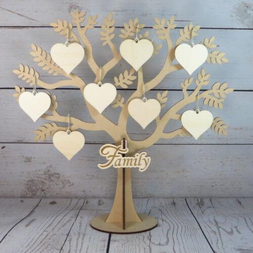 buy 2, get 1 free Laser cut family tree