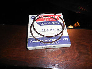 NOS-Yamaha-OEM-Piston-Rings-STD-1999-2000-Competition-YZ250-YZ-250-5CU-11603-00