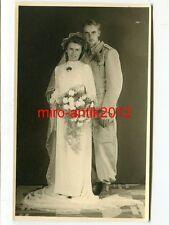 Foto, Portrait, Hochzeit, Soldat, Studiofoto, 1942