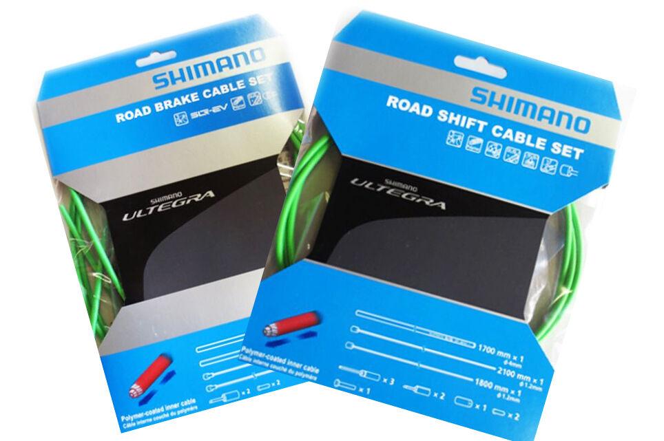SHIMANO - KIT COMPLETO CORSA GUAINE+FILI CAMBIO E FRENO ULTEGRA 6800