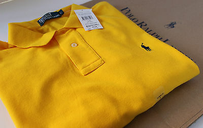 Ralph Lauren Polo Shirt - Classic Fit -Yellow - Small Man RRP £70